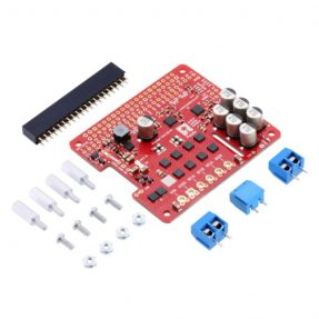 Pololu 3752 Dual G2 High-Power Motor Driver 24V14 for Raspberry Pi