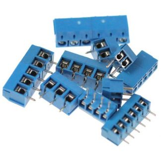PCB Mounting Screw Terminals 3.5mm and 5mm Pitch